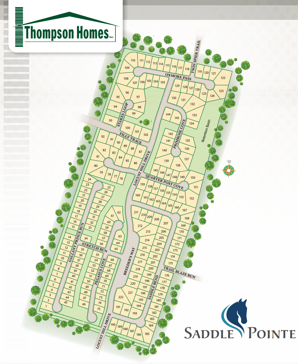 New Homes in Owensboro KY at Saddle Pointe