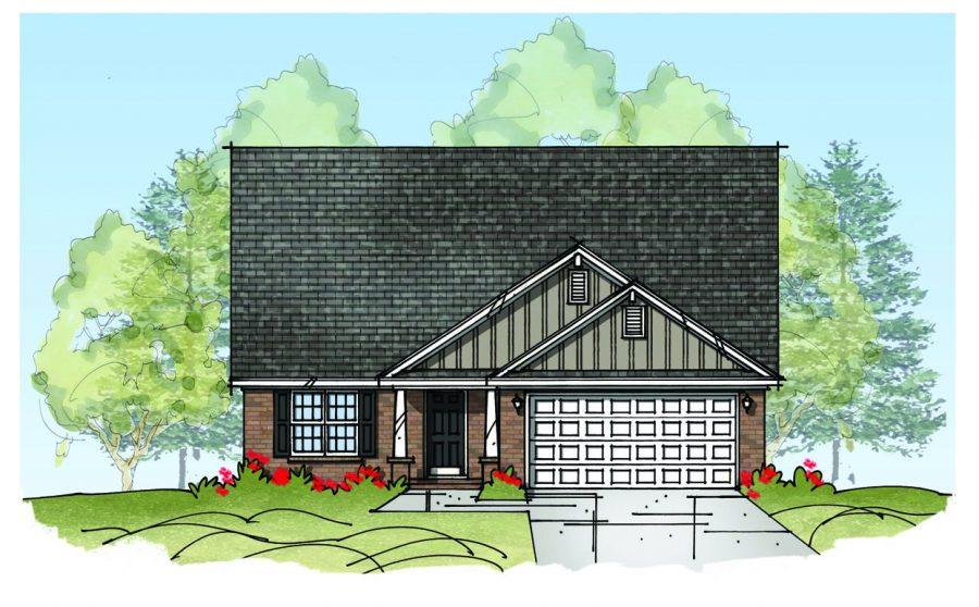 The Beaumont Floor Plan Thompson Homes