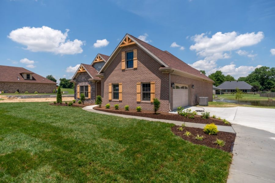 Exterior Home Designs by Thompson Homes